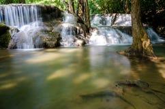 Huai Mae Khamin Waterfall in Thailand Royalty Free Stock Images