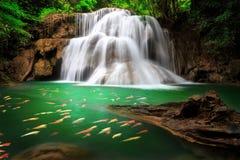 The Huai Mae Khamin Waterfall , Thailand Stock Photos