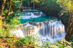 Huai Mae Khamin Waterfall Royalty Free Stock Image
