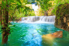 Huai Mae Khamin Waterfall Royalty Free Stock Photography