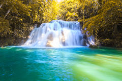 Huai Mae Khamin Waterfall Royalty Free Stock Photos