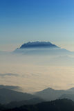 Huai Nam Dang National Park. Beautiful mountain in mist, Huai Nam Dang National Park, Chiang Mai, Thaialnd Stock Photos