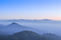 Huai Nam Dang National Park Royalty Free Stock Photography