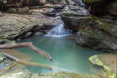 Huai Phai waterfall Royalty Free Stock Images