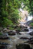 Huai-To Waterfall in famous Krabi seaside town, Thailand. Royalty Free Stock Photo