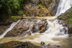 Huai-To Waterfall in famous Krabi seaside town, Thailand. Royalty Free Stock Images