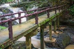 Huai-To Waterfall in famous Krabi seaside town, Thailand. Royalty Free Stock Image