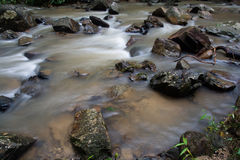 Huai-To Waterfall in famous Krabi seaside town, Thailand. Stock Images