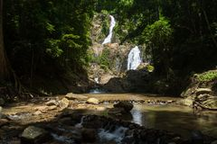 Huai To Waterfall Royalty Free Stock Images