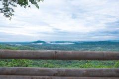 Huai Ton Hi Viewpoint, Ban Na Ton Chan Thailand. Huai Ton Hi viewpoint Mountain and Beautiful fog at Bannatonchan village Sukhothai province Thailand stock photos