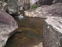 Huai Yang waterfall. Stream of Huai Yang waterfall, Huai Yang National Park, Prachuap Khiri Khan, Thailand stock photography