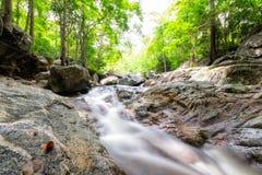 Huai yang waterfall tropical rainforest in national park. At prachuap khiri khan, thailand stock photography