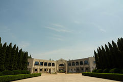 Huaian Zhou Enlai Memorial Hall Stockbilder