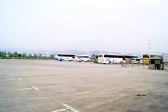 Huaihua, China: bus station Royalty Free Stock Photo