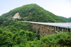 Huaitong桥梁 免版税图库摄影