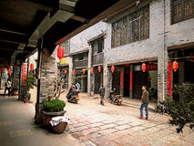 Huaiyuan Ancient Town,Guangxi,China. Huaiyuan ancient town is one of the most popular tourist attractions in Yizhou,Guangxi Province,China Stock Photography