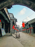 Huaiyuan Ancient Town,Guangxi,China. Huaiyuan ancient town is one of the most popular tourist attractions in Yizhou,Guangxi Province,China Stock Images