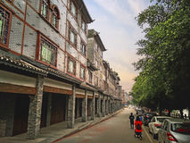 Huaiyuan Ancient Town,Guangxi,China. Huaiyuan ancient town is one of the most popular tourist attractions in Yizhou,Guangxi Province,China Stock Photo