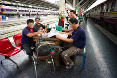 Hualamphong Station Stock Photos
