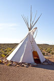 Hualapai tee pee. On the west side of the Grand Canyon stock images