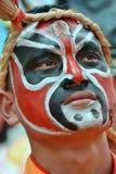 Hualian Drgon, Gesichtsmalerei Lizenzfreie Stockfotos