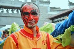 Hualian Drgon, Gesichtsmalerei Lizenzfreies Stockfoto