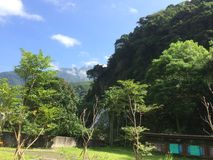 Hualien County - bygden Royaltyfri Foto