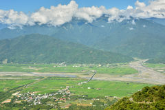 Hualien farmland Royalty Free Stock Image
