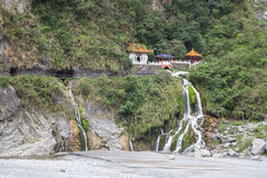 HUALIEN ,TAIWAN - Mach 06, 2015: Changchunci shirine landmark of Stock Image