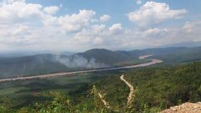 Huallaga de Río Foto de archivo libre de regalías