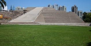 Huallamarca Pyramid Royalty Free Stock Image