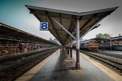 Hualumpong火车站 免版税库存图片