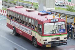 29 Hualumpong - carro do ônibus de Rangsit da universidade de Thammasat Foto de Stock Royalty Free