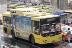 29 Hualumpong - coche del autobús de Rangsit de la universidad de Thammasat Foto de archivo