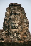 Huaman font face à l'image dans Angkor Vat du Cambodge Photos libres de droits