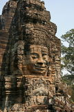 Huaman font face à l'image dans l'angkor du Cambodge Image stock