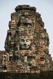 Huaman stellen Bild in Angkor Wat von Kambodscha gegenüber lizenzfreie stockfotos