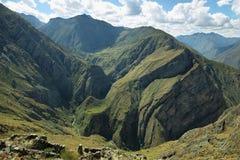 Huamanmarca μέσα ούτε Yauyos Cochas, Περού Στοκ Φωτογραφία