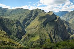 Huamanmarca μέσα ούτε Yauyos Cochas, Περού Στοκ φωτογραφία με δικαίωμα ελεύθερης χρήσης