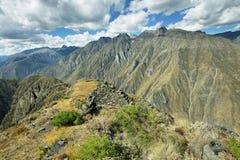 Huamanmarca μέσα ούτε Yauyos Cochas, Περού Στοκ Εικόνες