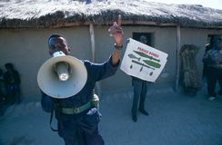 Huambo,安哥拉 免版税库存照片