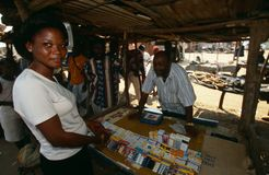 Huambo, Angola Stock Photo