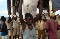 Huambo, Angola Stock Image
