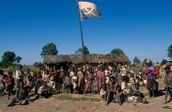 Huambo, Angola Fotografie Stock Libere da Diritti