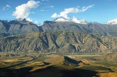 Huandoy峰顶,秘鲁 免版税库存图片