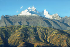 Huandoy maxima, Peru Fotografering för Bildbyråer