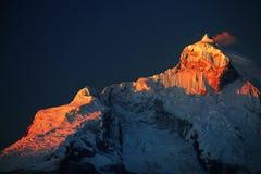 Huandoy Peaks Stock Photos