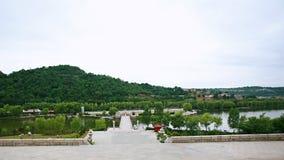 Huang Di Mausoleum arkivbilder