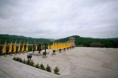 Huang Di Mausoleum Fotografía de archivo libre de regalías
