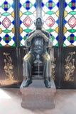 Huang fei hong statue Stock Image